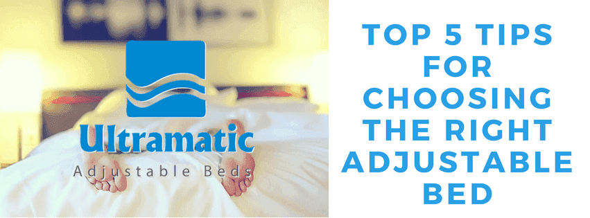 5 tips in choosing adjustable beds